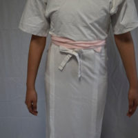 、浴衣を着る前の下準備(補正の仕方)
