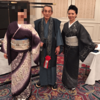 京友禅の作家の先生「田畑喜八」先生