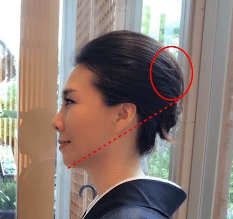 絶壁をカバーする髪型 横から見たポイント