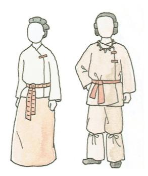 古墳時代の日本の衣服