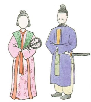 飛鳥・奈良時代の日本の衣服