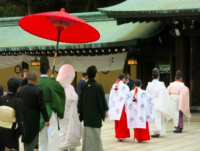 結婚式の参列の着物