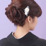 黒留袖の髪型に付けるかんざしのマナーは?結婚式でかんざしは必要なの?