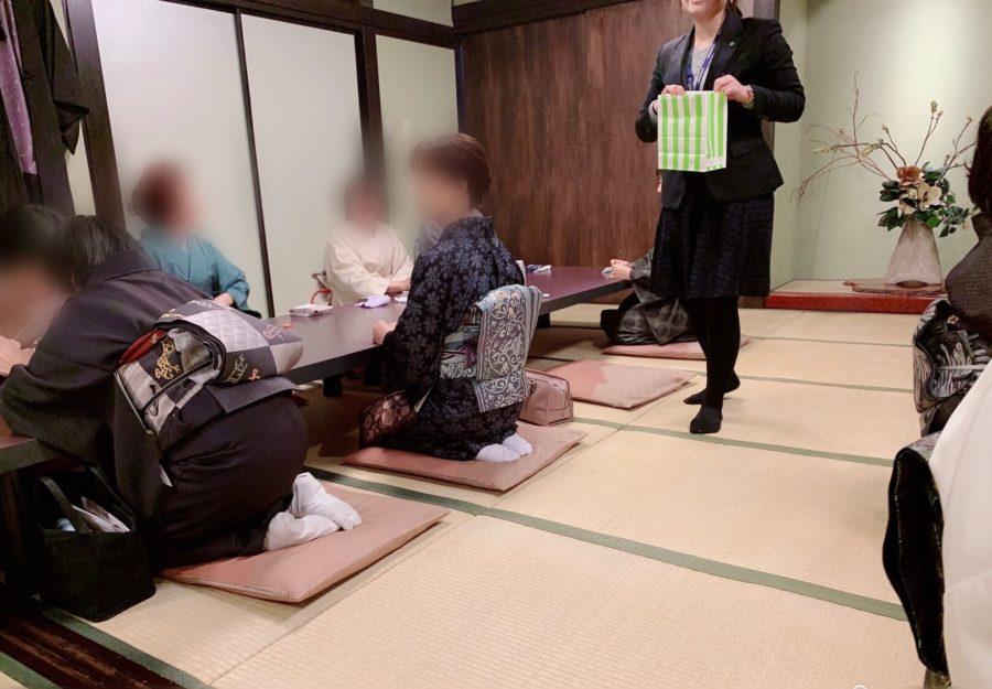 着付け教室の初詣イベント抽選会くじ引き