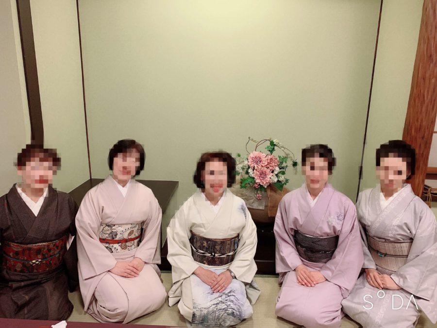 初詣の着物の種類