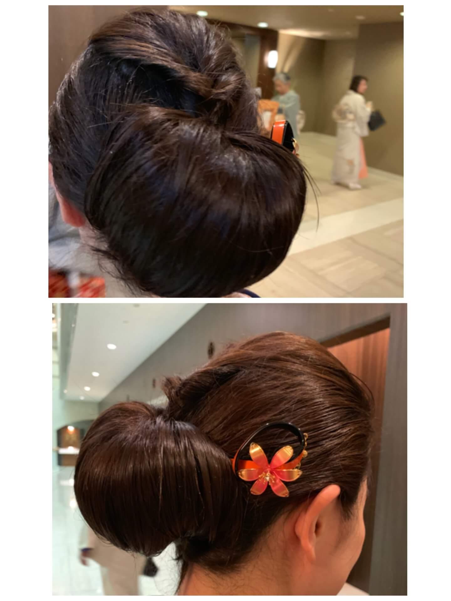 きもの文化検定パーティー髪型
