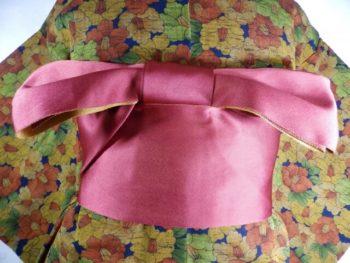 一文字帯結び半巾帯