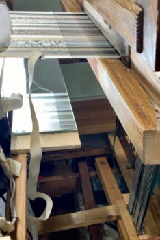 博多織手織り鏡