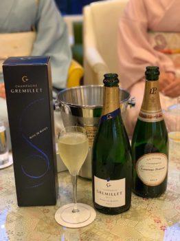 京友禅シャンパン