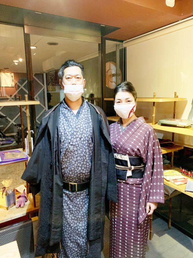 京都染工房洛楽人着物三代目