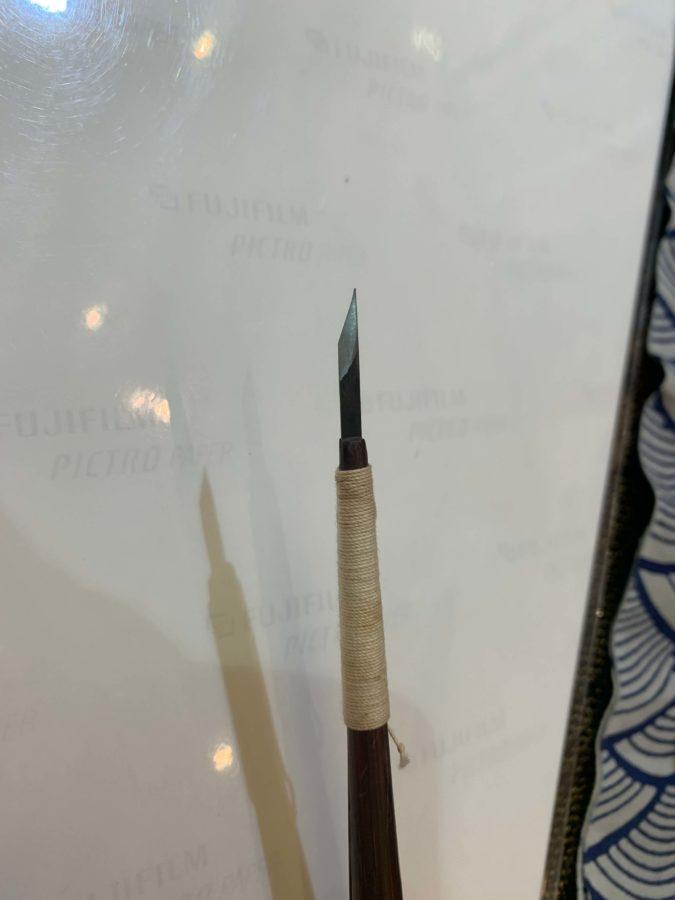 伊勢型紙彫りの道具