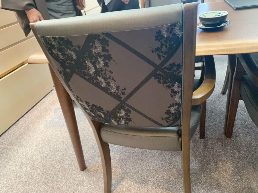 斎藤上太郎ファブリック椅子