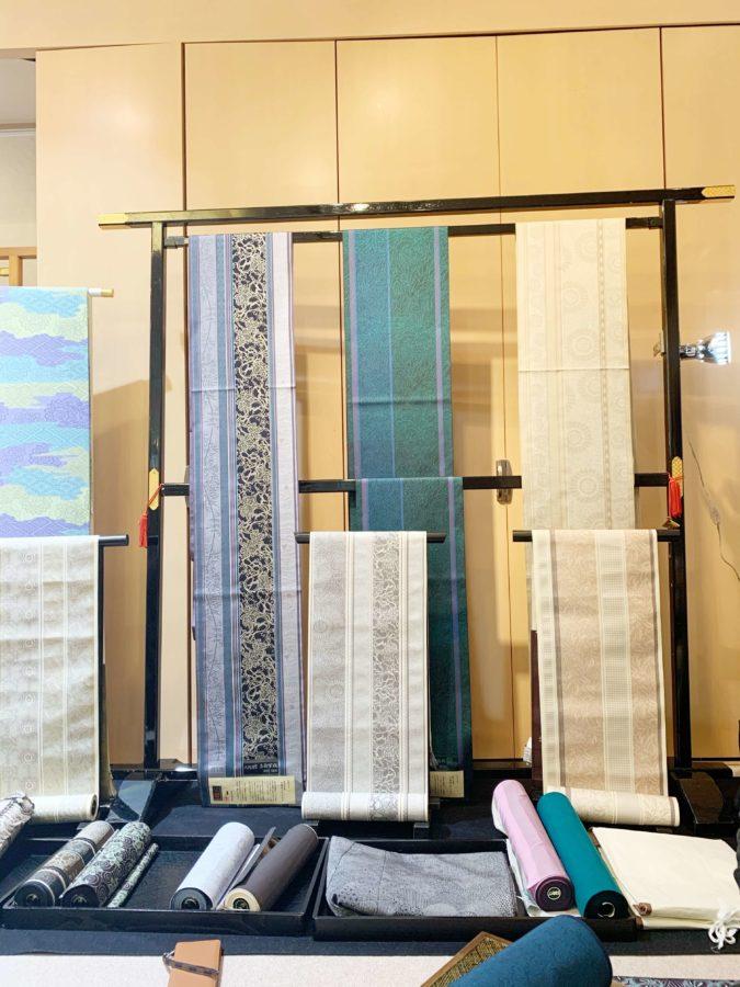 染処古今と西村織物共作帯