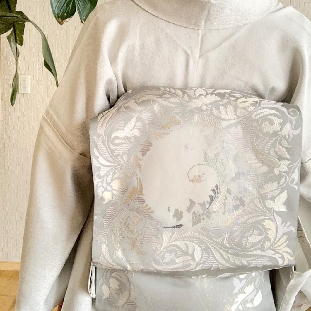 吉祥紋様本袋帯河瀬満織物京都