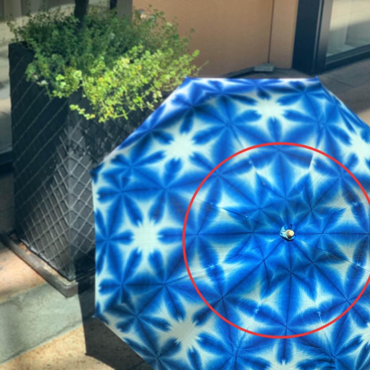 着物に合う日傘折りたたみ手作り