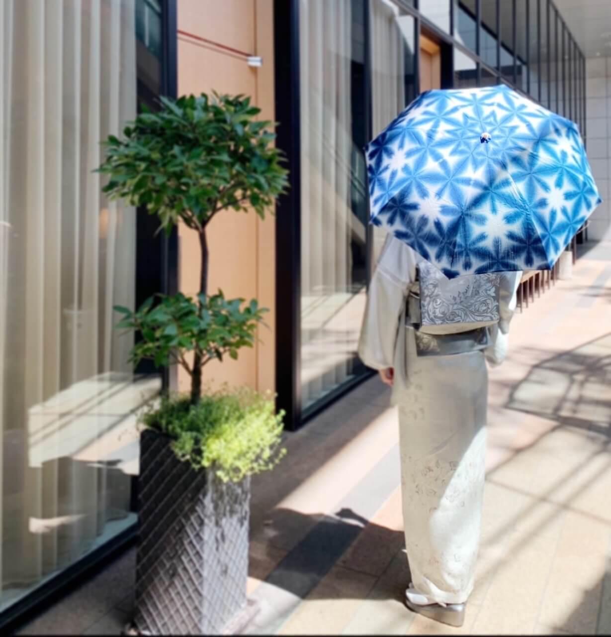 着物に合う日傘折りたたみ