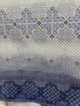 着物スワトウ刺繍